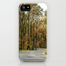Rebirth After Bush Fire, Country Victoria iPhone Case