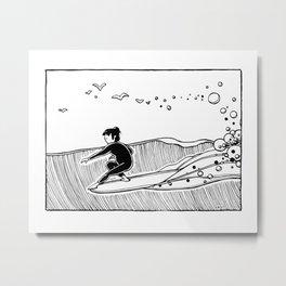 """"""" Ocean Spell """" Metal Print"""