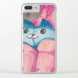 Cat Butt Clear iPhone Case