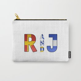 Romeo and Juliet - Navy Code Carry-All Pouch