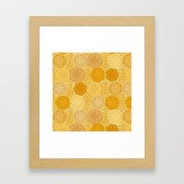 Saffron Souk Framed Art Print