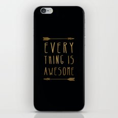 Everything is Awesome iPhone & iPod Skin