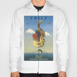 Vintage poster - Chile Hoody