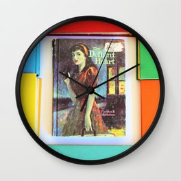 The Defiant Heart Book Lay Wall Clock