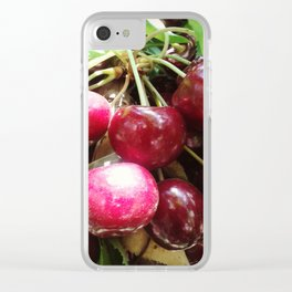 Cherrys Clear iPhone Case