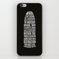 war iPhone & iPod Skins featuring War by bipidesign