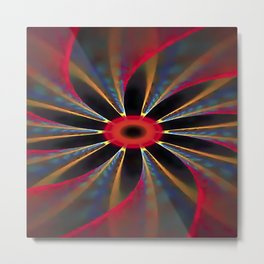 Extracts from Hallucinogenic Energy Metal Print