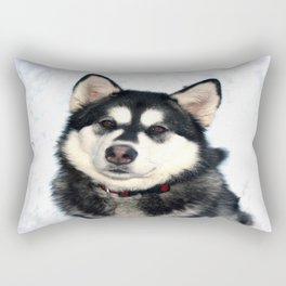 Kayla the Alaskan Malamute Rectangular Pillow