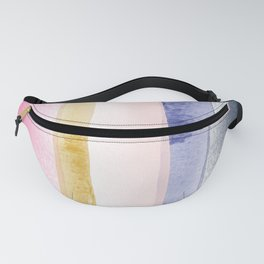 Linear Brushstroke Ombre Abstract Fanny Pack