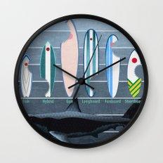 Shark Week - A balanced diet is essential  Wall Clock
