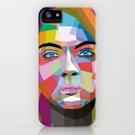 Cara Delevingne - wpap art iPhone Case