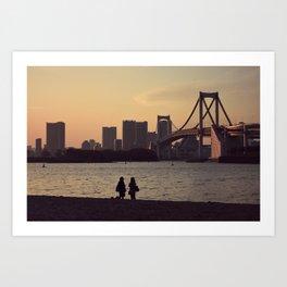 View of Odaiba Art Print
