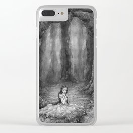 Moonseed Clear iPhone Case