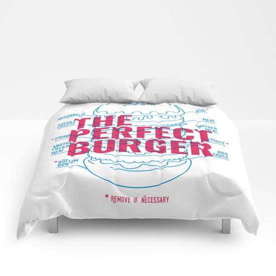 The Perfect Burger Comforters
