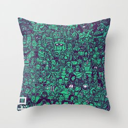 Domo Arigato 2 Throw Pillow