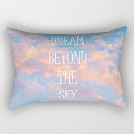 Dream Beyond the Sky... Rectangular Pillow