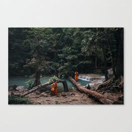 Erawan Waterfall, Thailand Canvas Print