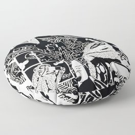 Diogenes Syndrome Floor Pillow