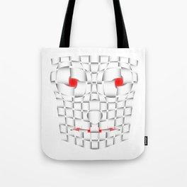 frightening mask Tote Bag
