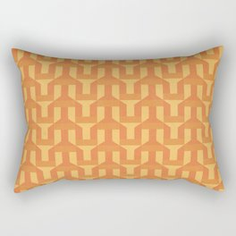 orange factory Rectangular Pillow
