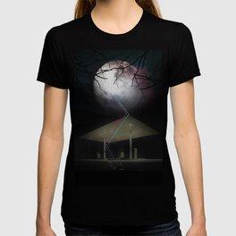 Moon Struck at gas station T-shirt