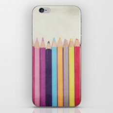 Colored Pencils iPhone & iPod Skin