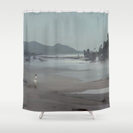 Fated Shower Curtain