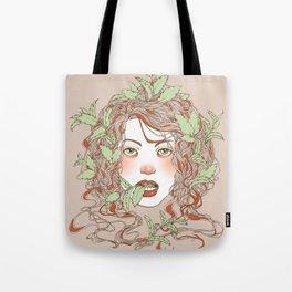Peppermint Girl Tote Bag