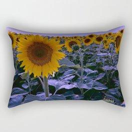 sunflower wonderland Rectangular Pillow