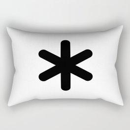 X Y Z Rectangular Pillow