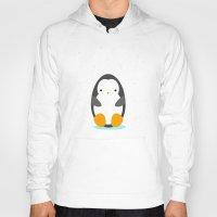 penguin Hoodies featuring Penguin by eDrawings38