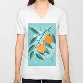 Oranges Unisex V-Neck