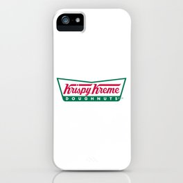 Krispy Kreme iPhone Case