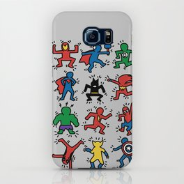 Keith Superheroes iPhone Case