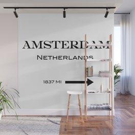 Amsterdam Wall Mural