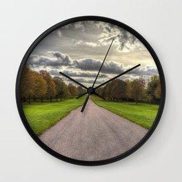 The Long Walk Windsor Wall Clock