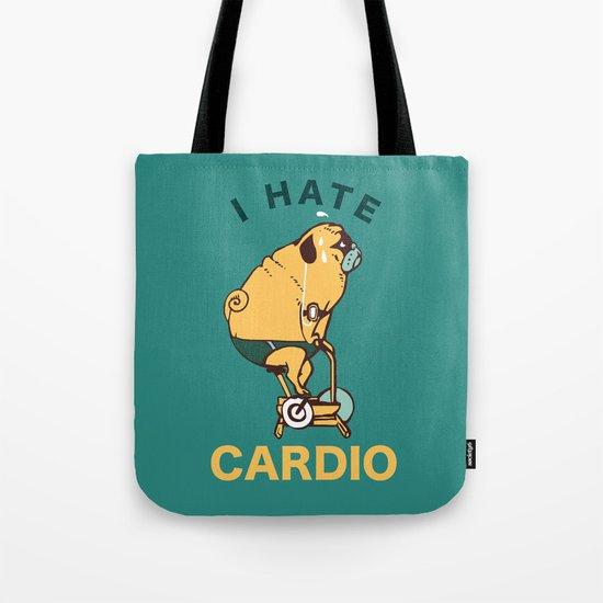 I Hate Cardio Tote Bag