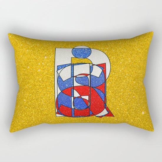 RUSSIA - Gold - Glitter Rectangular Pillow