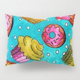 Muffins and doughnuts Pillow Sham