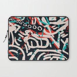 Street Art Pattern Graffiti Post Laptop Sleeve