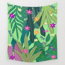 Fantasy Botanical #12 Wall Tapestry