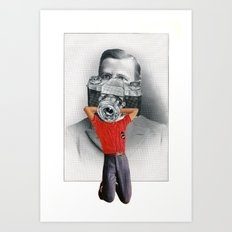 Some Say They Can Still See The Little Boy Inside Him Art Print