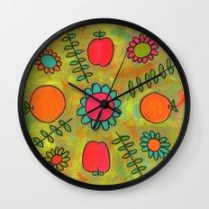 Kitchen Vibes Wall Clock