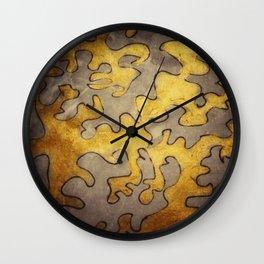 Dematerialization Wall Clock