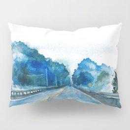 Misty Highway Pillow Sham