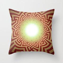 Swazi Light Tunnel Throw Pillow