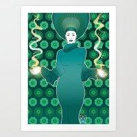 Mother Nature! Art Print