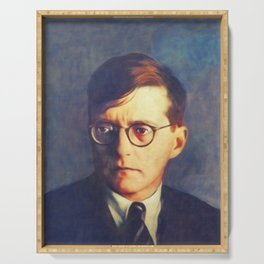Dmitri Shostakovich, Music Legend Serving Tray