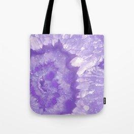 Ultra Violet Crystal Tote Bag
