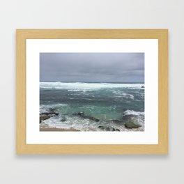 Moody Maui Framed Art Print
